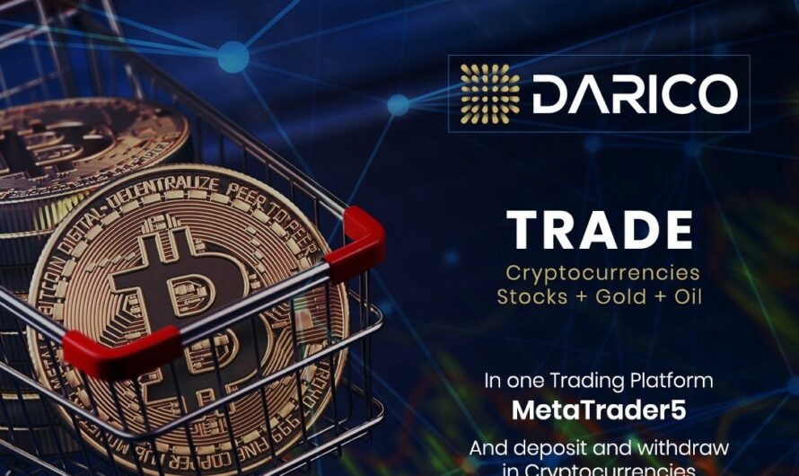 Darico – Your Gateway To Cryptocurrency Investment